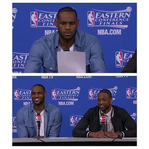 """Postgame: Paul George talks about Lance's """"learning lessons"""" & says the Pacers """"outplayed"""" the Heat. LeBron responds"""