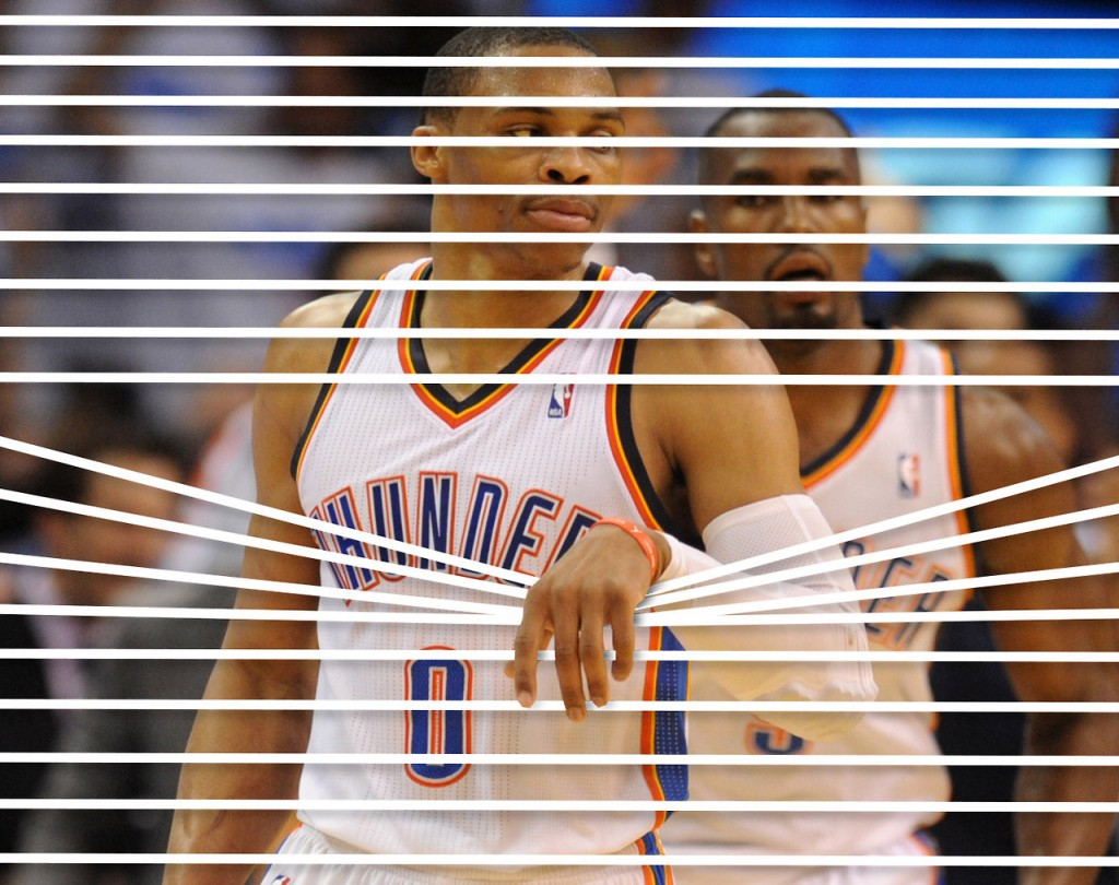 """There's a website just about Russell Westbrook """"holding things"""""""