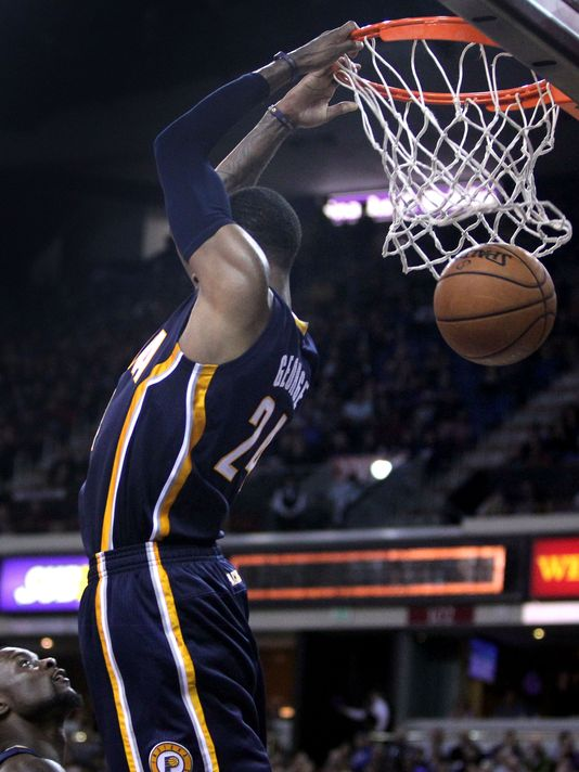 all 69 dunks by paul george in 20132014 ballislifecom