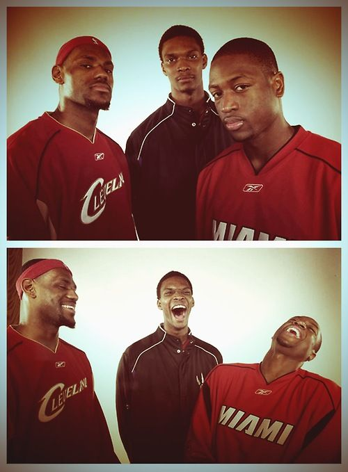 Flashback Photo: The Big 3 before they were the Big 3