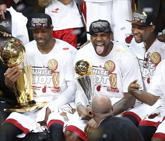 2 years ago today, The Miami Heat beat the Spurs in GM7 to win back-to-back NBA Championships