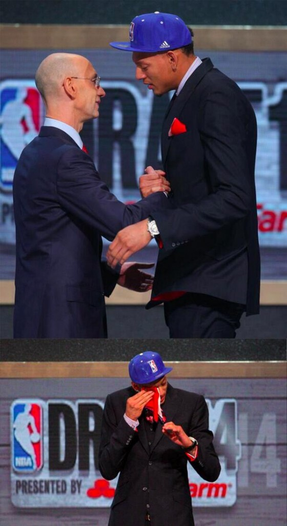 Isaiah Austin and my new favorite moment in NBA Draft History