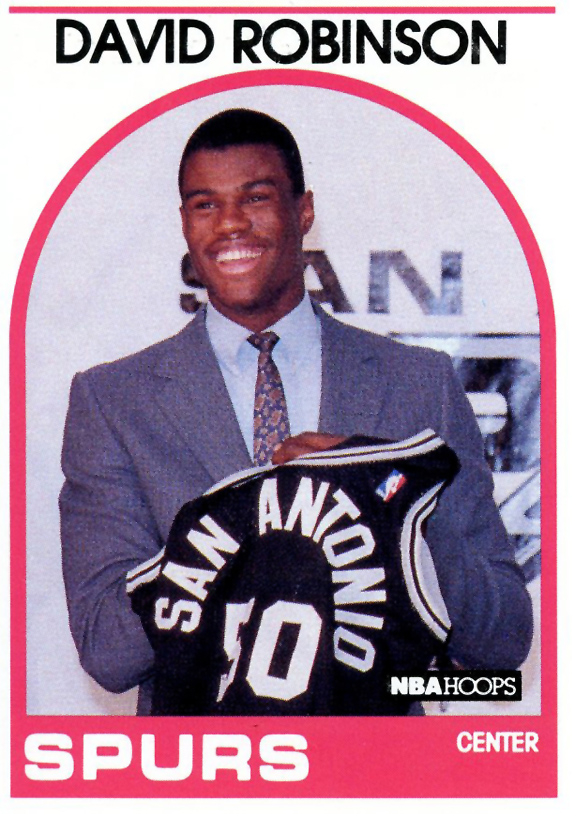 David Robinson rookie