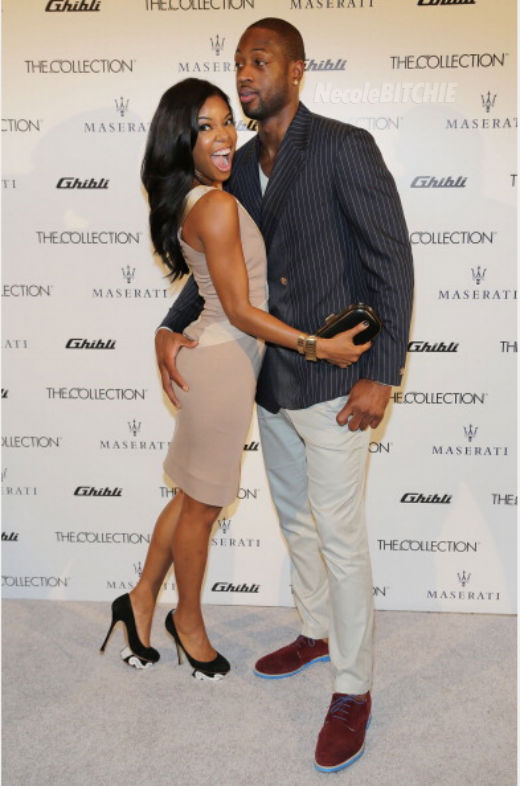 Gabrielle-Union-and-D-Wade-Maserati-The-Collection-Launch