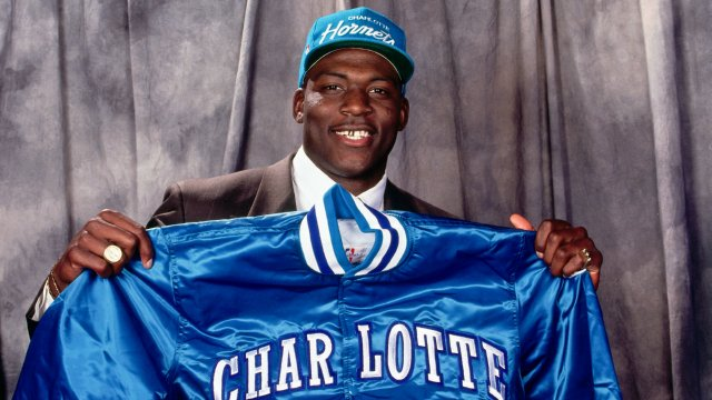 Draft Flashback: Hornets select Larry Johnson with the 1st pick in 1991
