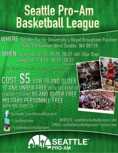 Ballislife | Seattle Pro Am Flyer
