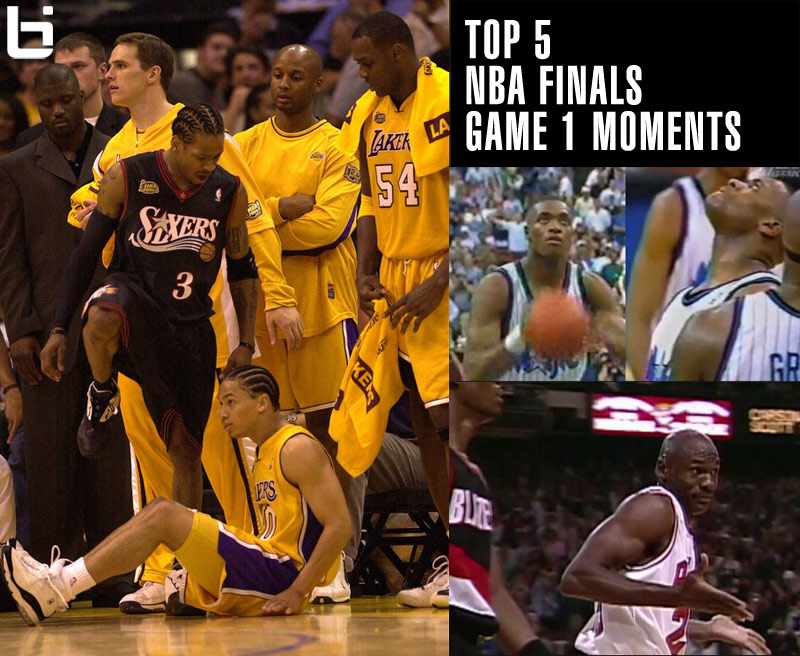Top 5 Greatest NBA Finals GM1 Moments
