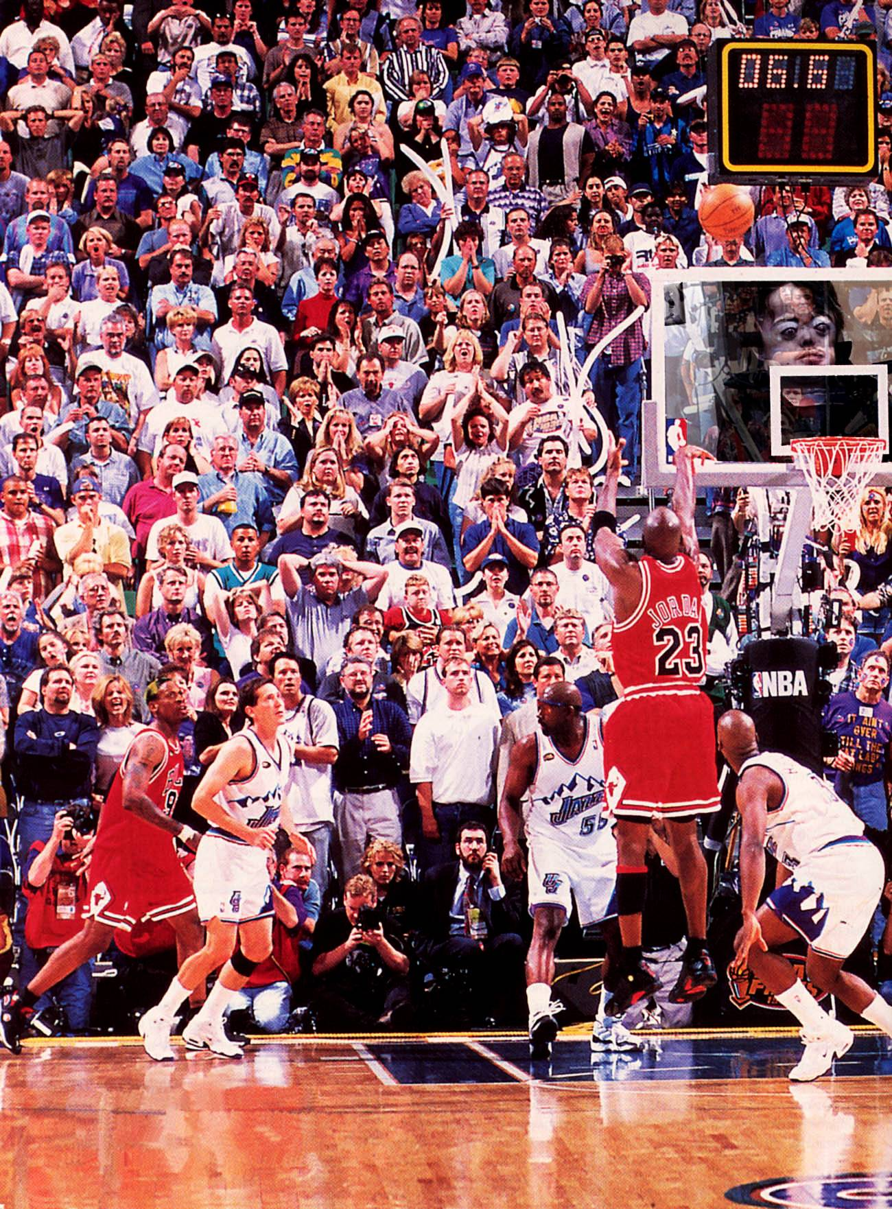 "18 years ago today, Michael Jordan hit ""The Last Shot"" & won his 6th Championship"