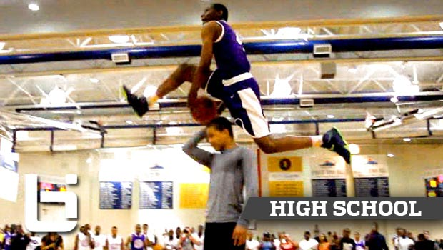 Another Crazy Dunk By High Schooler That Would Shut Down NBA Contest! Unique McLean Between The Legs OVER Someone