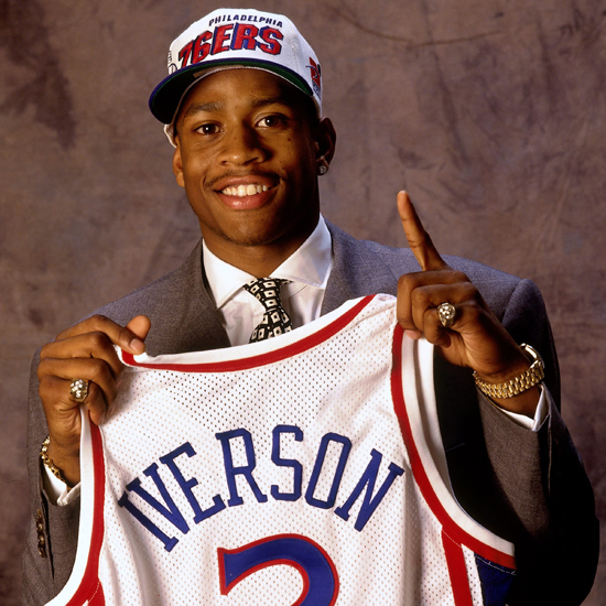 Draft Flashback: 76ers select Allen Iverson with the 1st pick in 1996