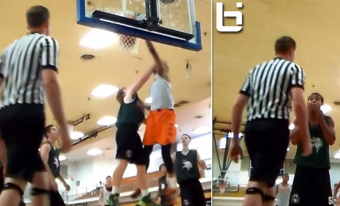 Flagrant Foul or just Facial Dunk?