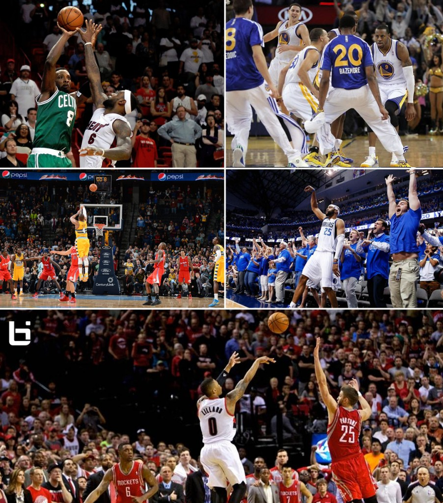 All 19 Game-Winning Buzzer Beaters from the 2013/14 NBA season
