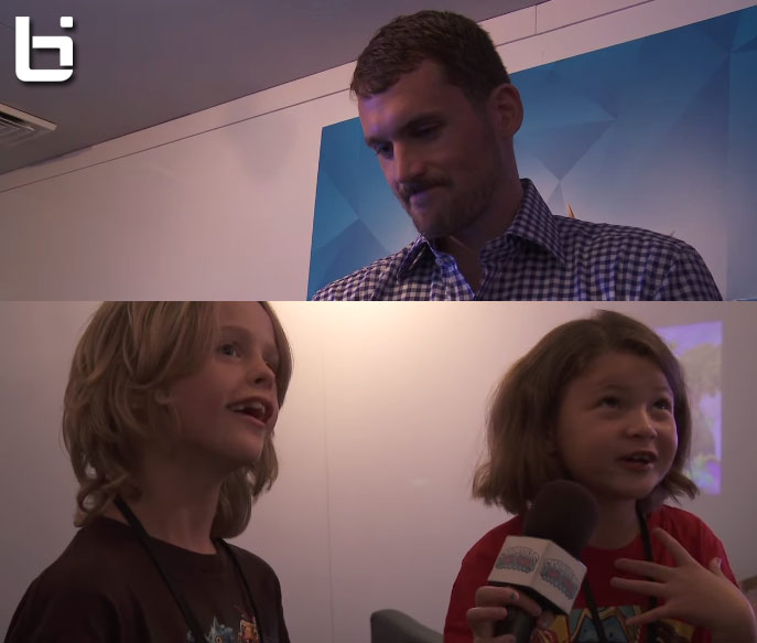 Kids interview Kevin Love about free agency: Love says what he rather be than a Laker