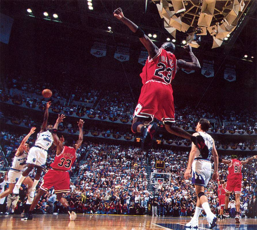 "19 years ago today, Michael Jordan hit ""The Last Shot ..."