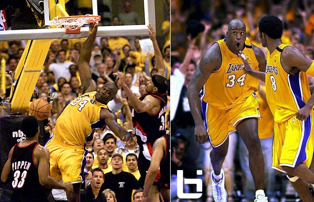 Lakers late rally beat the Blazers in GM7 of the 2000 playoffs