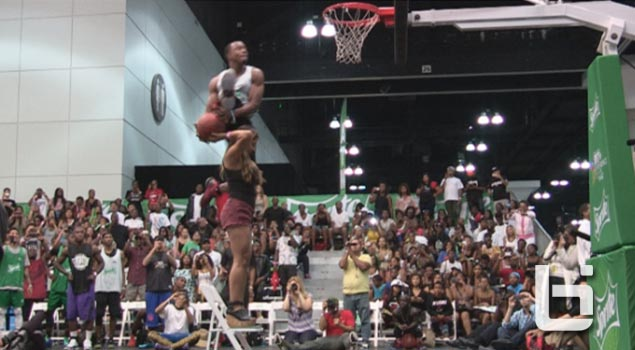 History of the New Dunk that's taking over Dunk Contests: Dunking over a person standing on a chair
