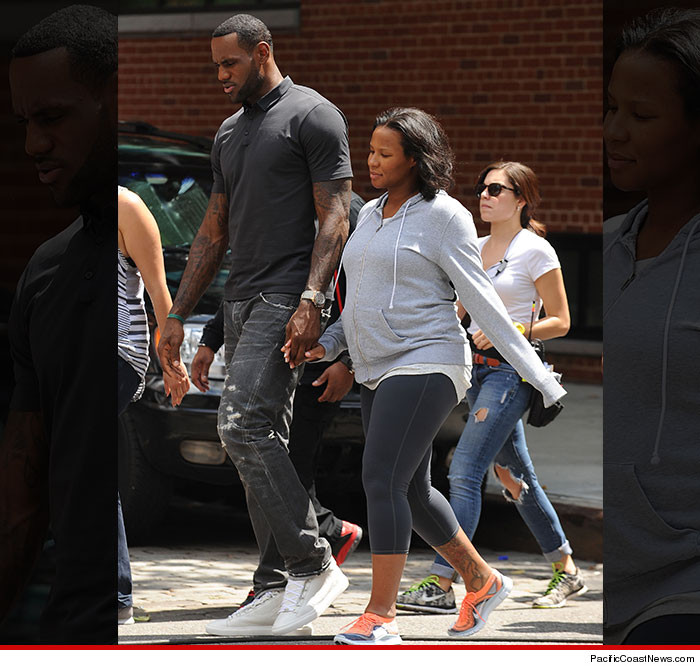 "LeBron James on the film set of Judd Apatow's film ""Trainwreck"""