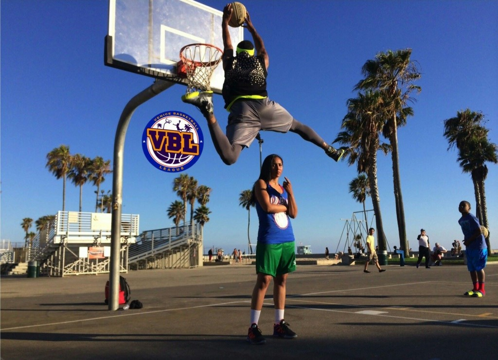Chris Staples is still jumping over attractive women (VBL)