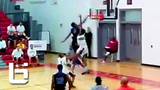 Malik Beasley Absolutely POSTERIZES a Defender!