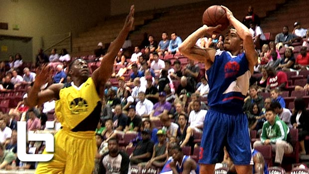 Mike James 48 Points vs Spencer Hawes (38) & Justin Dentmon (34) Show at Seattle Pro Am!