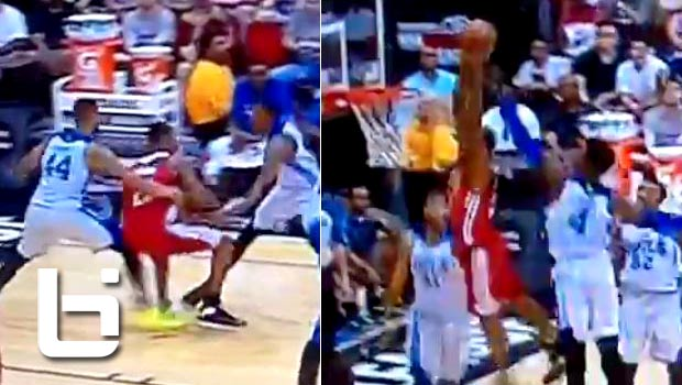 Andrew Wiggins Spins & Dunks In Summer League! NASTY Play!