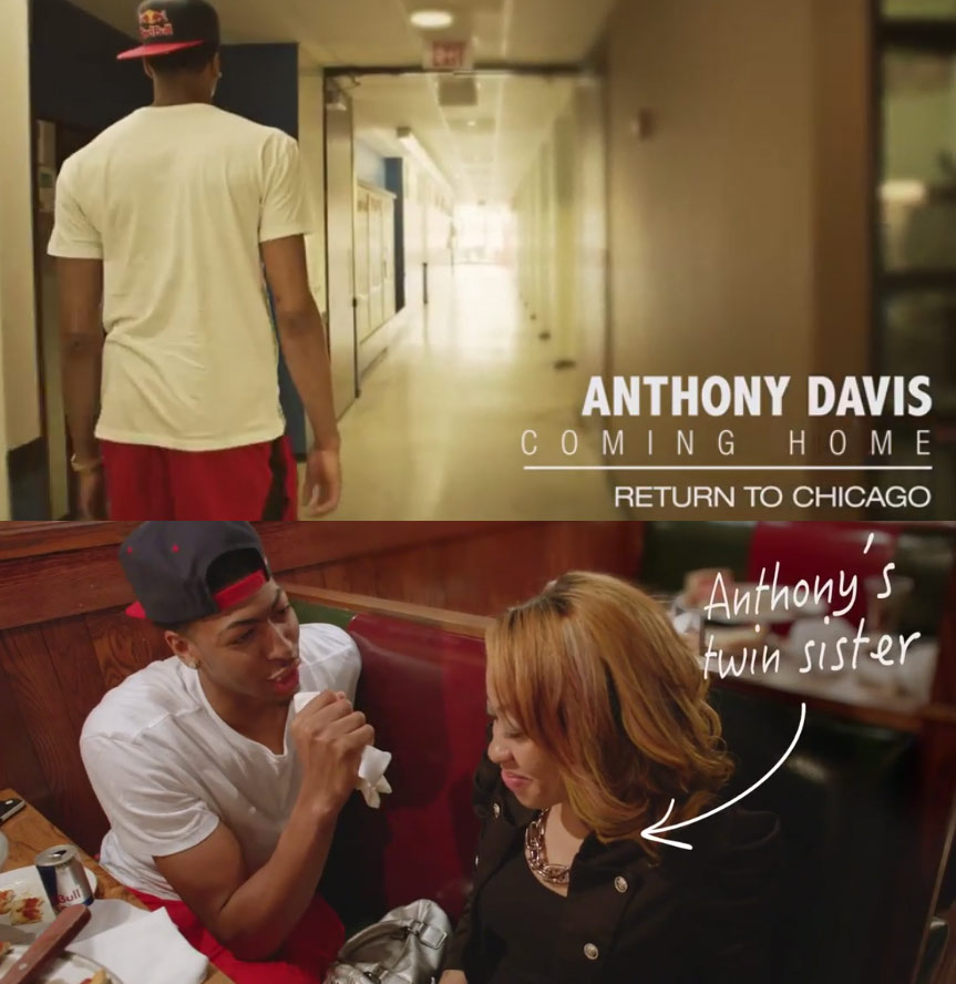 Anthony Davis Coming Home Part1 Return To Chicago
