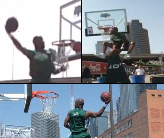 Flashback: Air Up There's first dunk contest back in 2009
