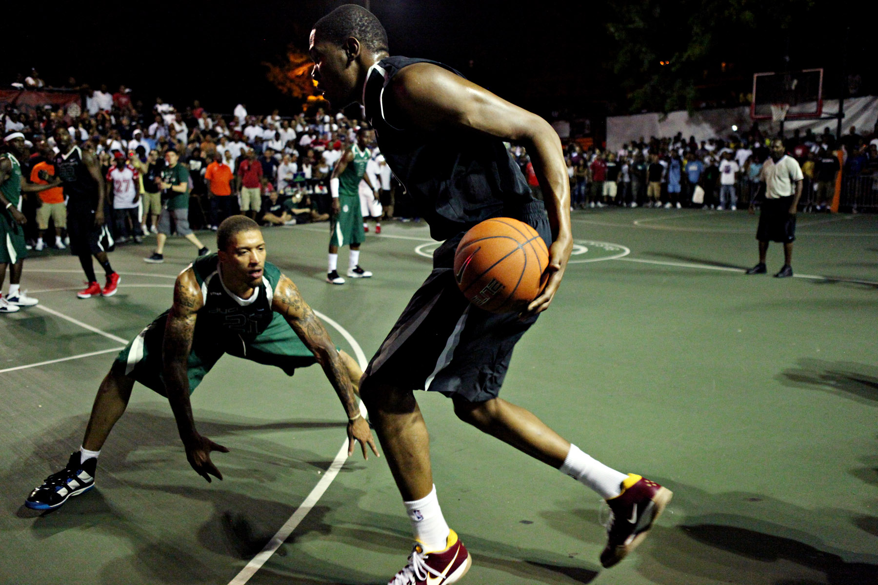 History of Dyckman Basketball Tournament + Best of Durant at Dyckman