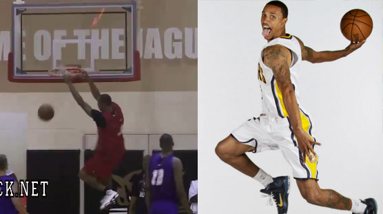 Flashback: George Hill puts up 50pts (21/25) in Indy Pro-Am (w/ EGordon, Chalmers, LStephenson)
