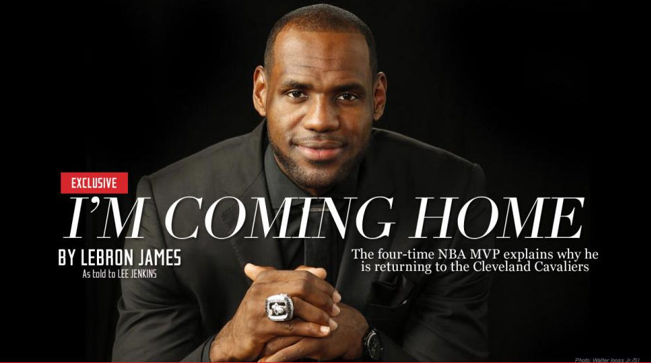 lebron james i m coming home analysis And that's exactly what lebron james and the the pacers won the season series 3-1 with cleveland's lone victory coming in the home analysis.