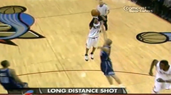 2004: Iverson scores 51 vs the Jazz (becomes 7th player to ever score 50+ in consecutive games)