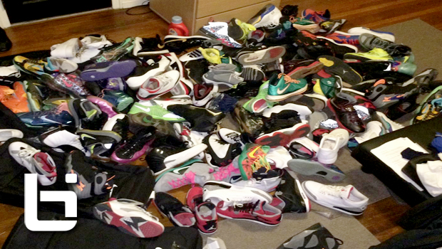 So you think you're a Sneakerhead? Check out Jabari Parker's Duke dorm room (Exclusive)!