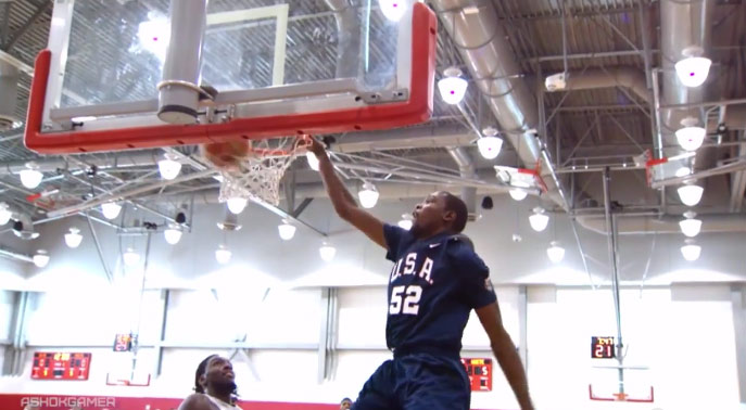 Derrick Rose Dunking + The Best Highlights from Day 1 of USA Basketball Training Camp