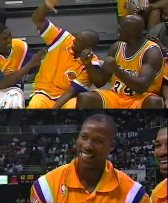 Kobe & Byron Scott's first game together in 1996 | In honor of Scott becoming the Lakers new  head coach