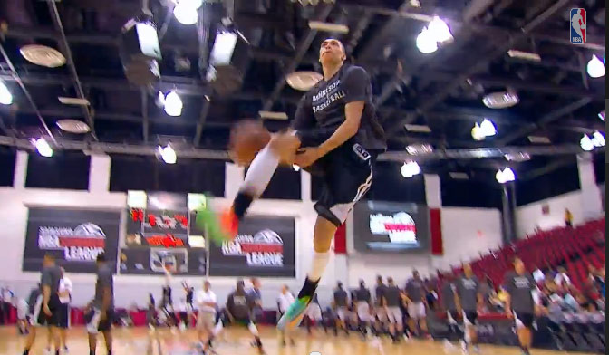 Another Day Another LaVine dunk (360 windmill + between the legs off the bounce)