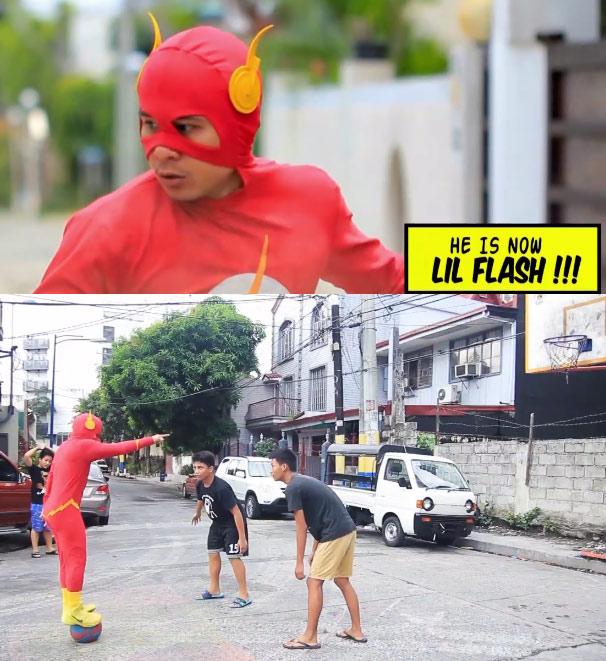 Can The Flash play basketball?