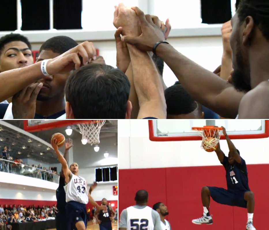 Best Highlights & Interviews from Day 2 of the USA Basketball Training Camp