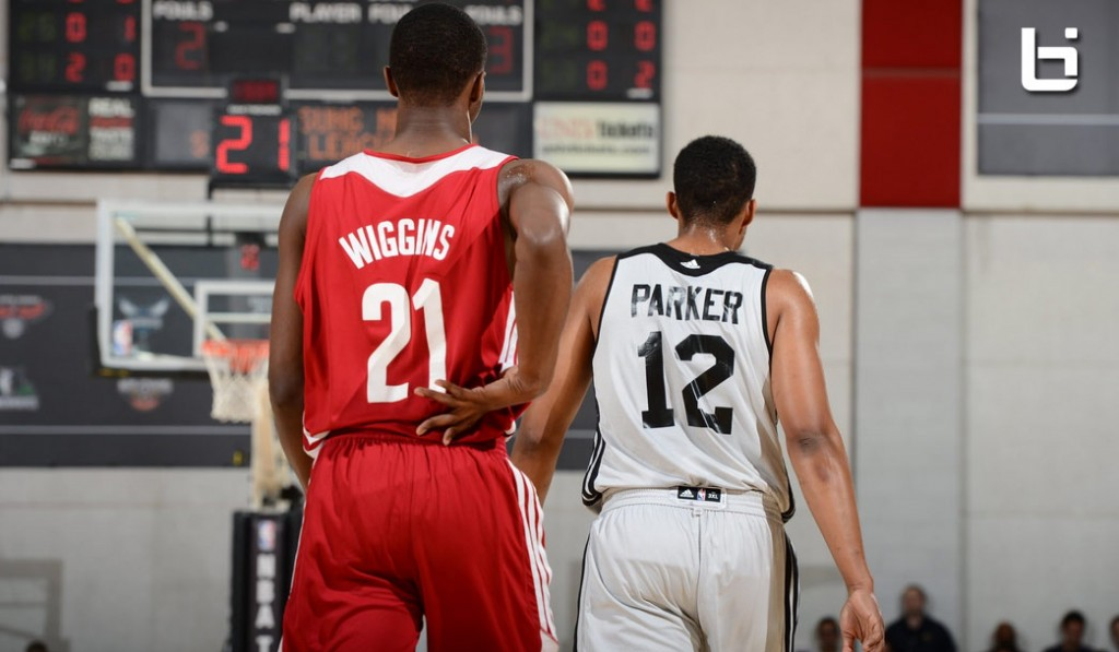 Andrew Wiggins & Jabari Parker impress in Vegas League debut & duel