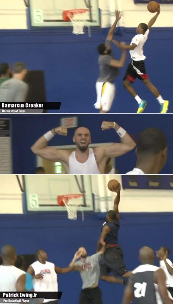 Austin Rivers, Gortat, Gordon & Croaker show out at ENC in Orlando