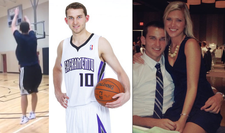 Kings' rookie Nik Stauskas hits 15 straight 3′s in 46 seconds | 46 in a row in 5 minutes