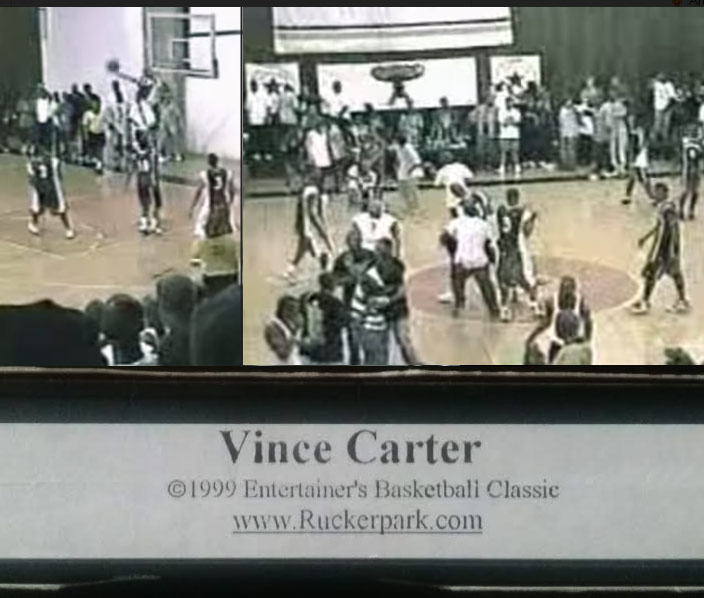 15 years ago, Vince Carter became a Rucker Park legend by shutting down Gauchos Gym