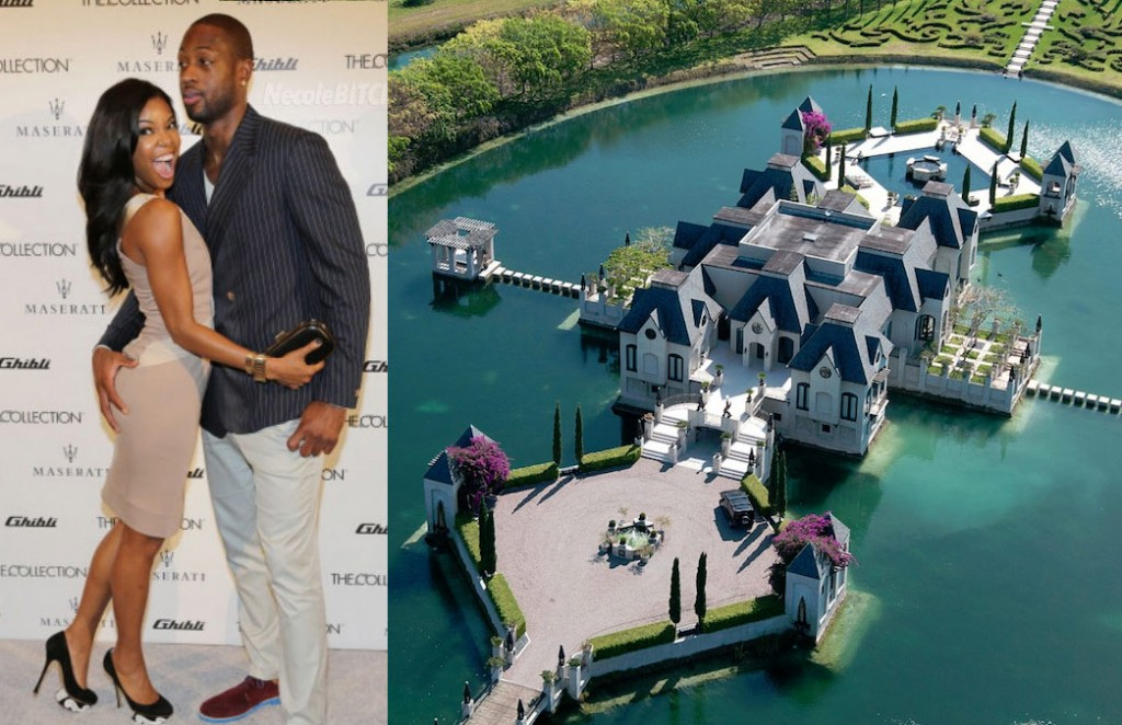 Dwayne Wade & Gabrielle Union are getting married in a castle & even King James has to sign a confidentiality agreement