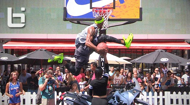 Airdogg Wins 2014 NIKE 3on3 Dunk Contest + Best Misses Inc Double Eastbay!!