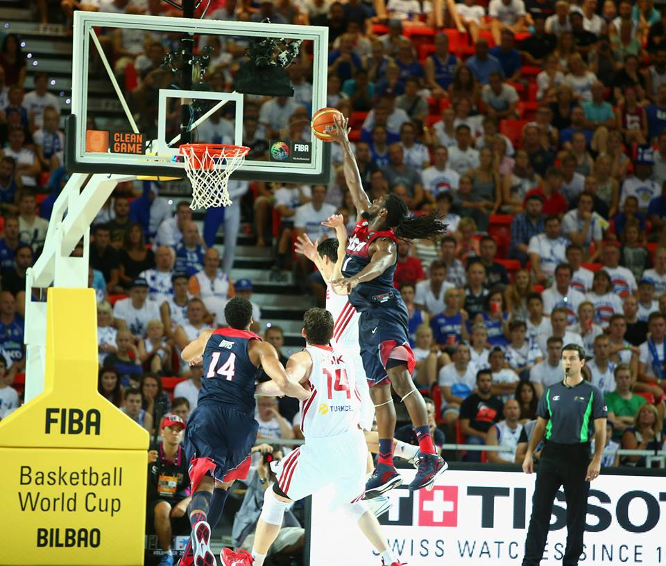 Team USA trailed at halftime, came back & beat Turkey by 21