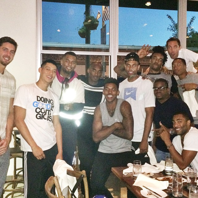 Lots of Smiles at Lakers Media Day & Team Dinner