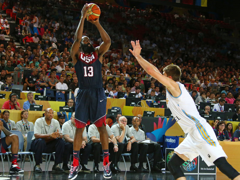 Team USA beats Ukraine 95-71, trailed after 1st quarter
