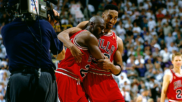 "Michael Jordan's ""The Flu Game"" aka ""The Hangover Game"" aka ""The Poisoned by Pizza Game"""