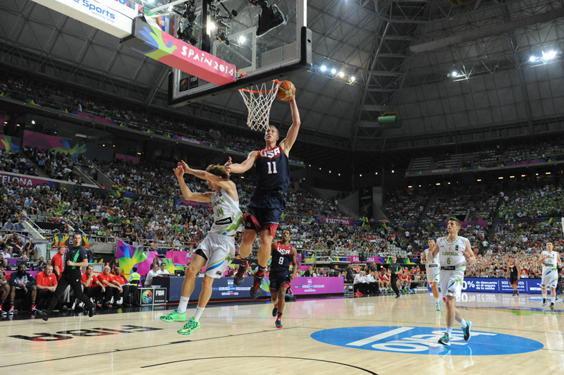 Slovenia v USA - Quarter-Finals