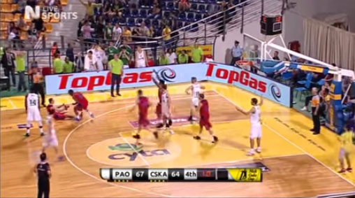 Vitaly Fridzon has his Larry Johnson moment & wins game on a 4-point play