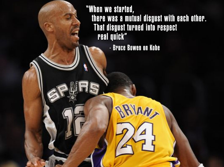 "Bruce Bowen talks Harden's defense, Vince & T-Mac settling & ""mutual disgust"" with Kobe"